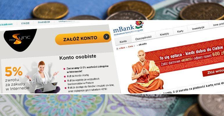 Darmowe konto bankowe