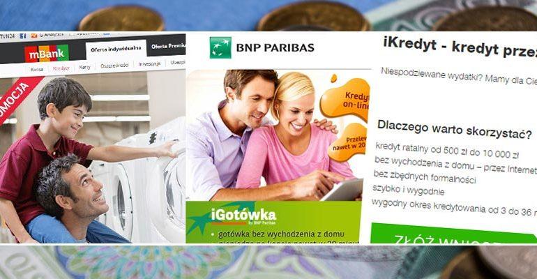 bankowe pożyczki w internecie