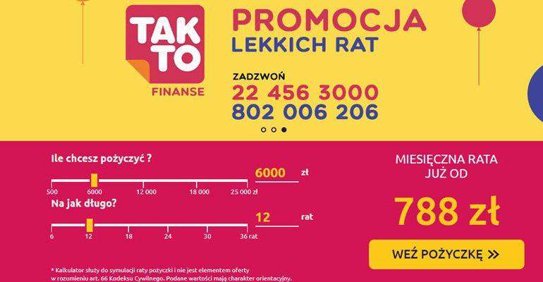 Pożyczka 6000 zł na 12 miesięcy pozabankowo
