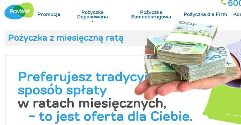 pożyczki podobne do Providenta
