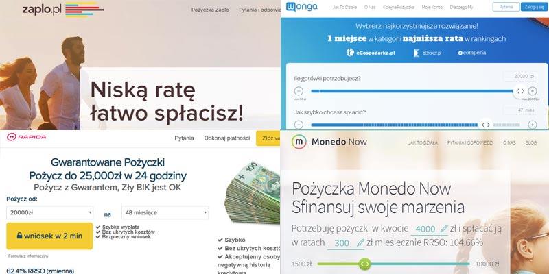 Pożyczka online na raty miesięczne