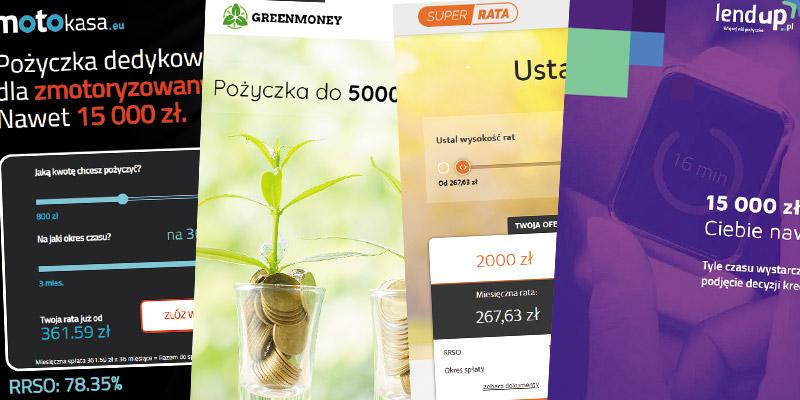 Firmy udzielające nowe pożyczki pozabankowe w 2020 roku