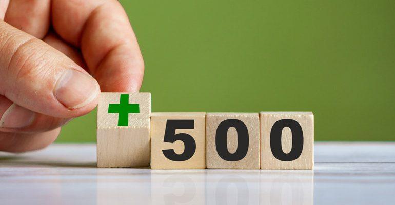 500 plus a pożyczka online