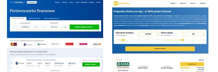 porównywarka pożyczki kredyt online